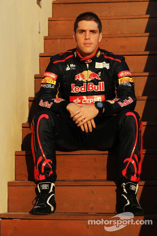 Luiz Razia, Scuderia Toro Rosso testrijder
