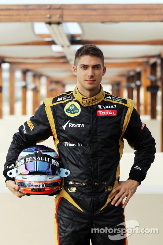 Edoardo Mortara, Lotus F1 testrijder