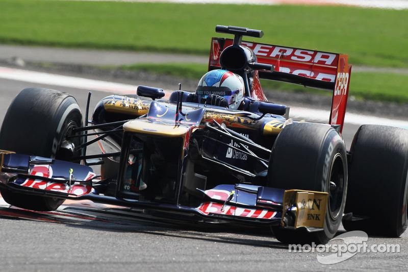 Johnny Cecotto, Scuderia Toro Rosso testrijder