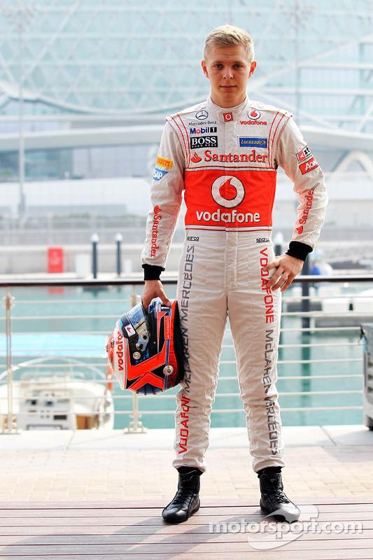 Кевін Магнуссен, McLaren MP4-27 Mercedes
