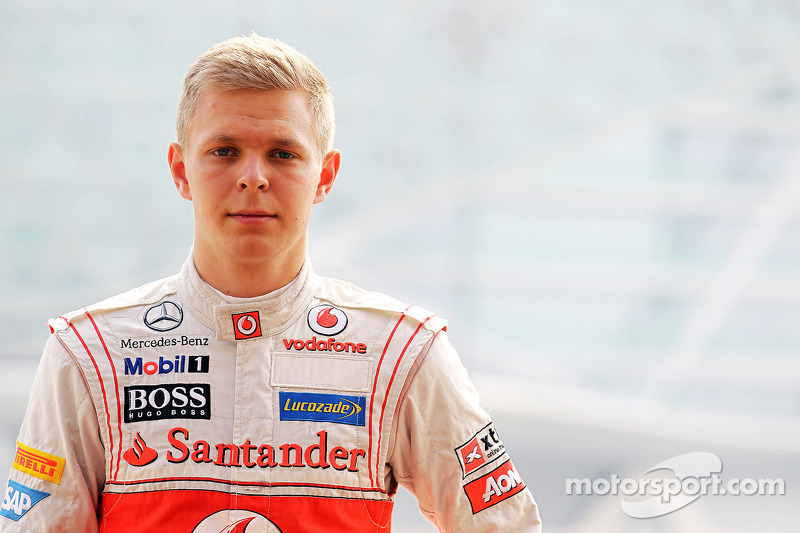 Ноябрь 2012: Кевин Магнуссен. Тесты в Абу-Даби с McLaren