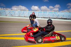 Media go-kart challenge