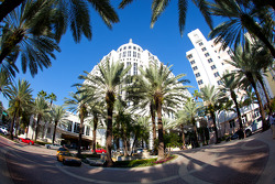 Miami Beach ambiance: the Loews Hotel