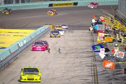 Paul Menard, Richard Childress Racing Chevrolet on pitlane