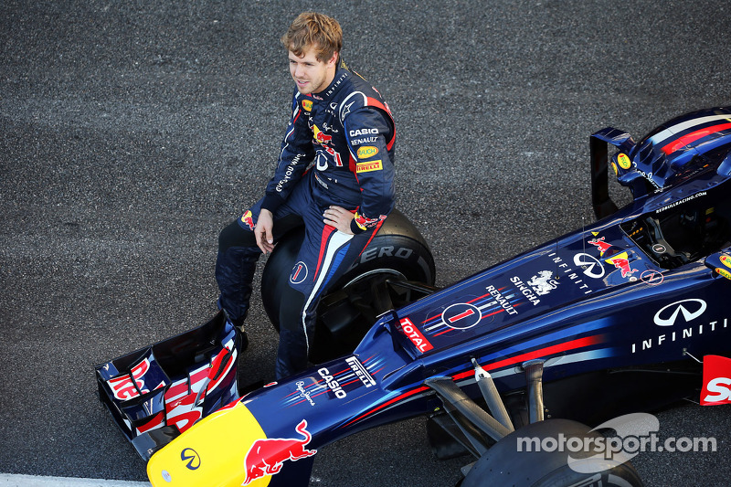 Sebastian Vettel, Red Bull Racing RB8 teamfoto