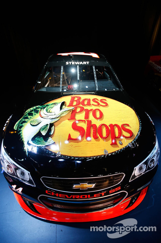 Tony Stewart's 2013 Chevrolet SS Sprint Cup car