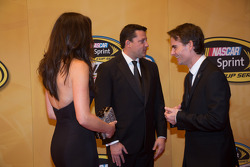 Tony Stewart and Jeff Gordon