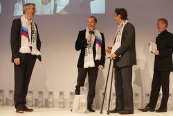 Алекс Дзанарди и Томас Бьяджи. Церемония вручения наград BMW Sports Trophy, особое событие.