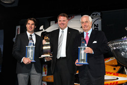 Will Power and Roger Penske