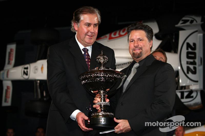 Празднования победы в чемпионате IndyCar, особое событие.