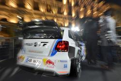 Sébastien Ogier en Julien Ingrassia in de nieuwe Volkswagen Polo R WRC