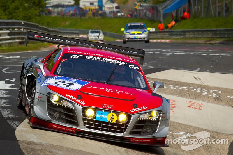 #24 Audi race experience Audi R8 LMS Ultra: Florian Gruber, Alex Yoong, Warren Luff, Luca Cappellari