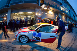 #200 Toyota Swiss Racing Toyota GT86: Natacha Gachnang, Oliver Burri, Christoph Wuest, Andreas Lanz