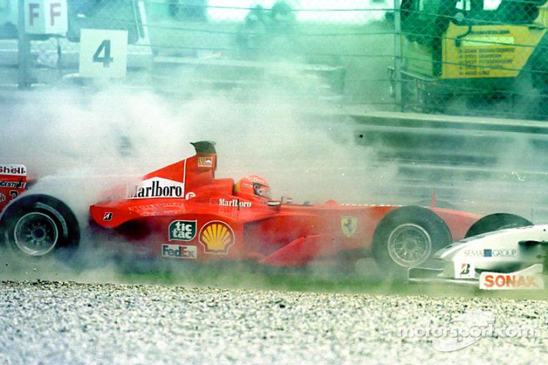Accident de Michael Schumacher au GP d'Autriche
