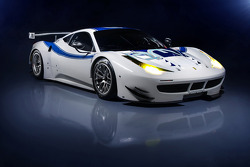 The RAM Racing Ferrari 458 Italia