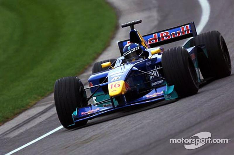 5. Pedro Paulo Diniz, 98 GPs (1995-2000), o melhor resultado é o 5° lugar em Luxemburgo 1997 e na Bélgica 1998.
