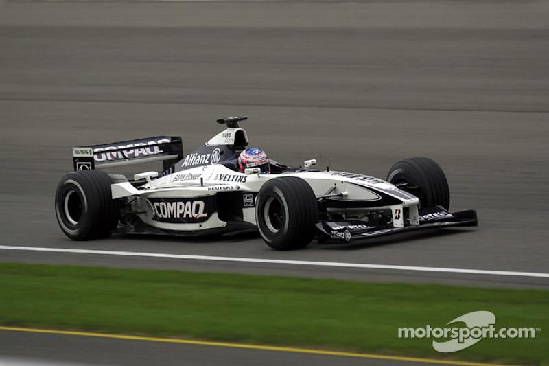 2000 - Williams FW22: oitavo lugar no Mundial de Pilotos, com 12 pontos