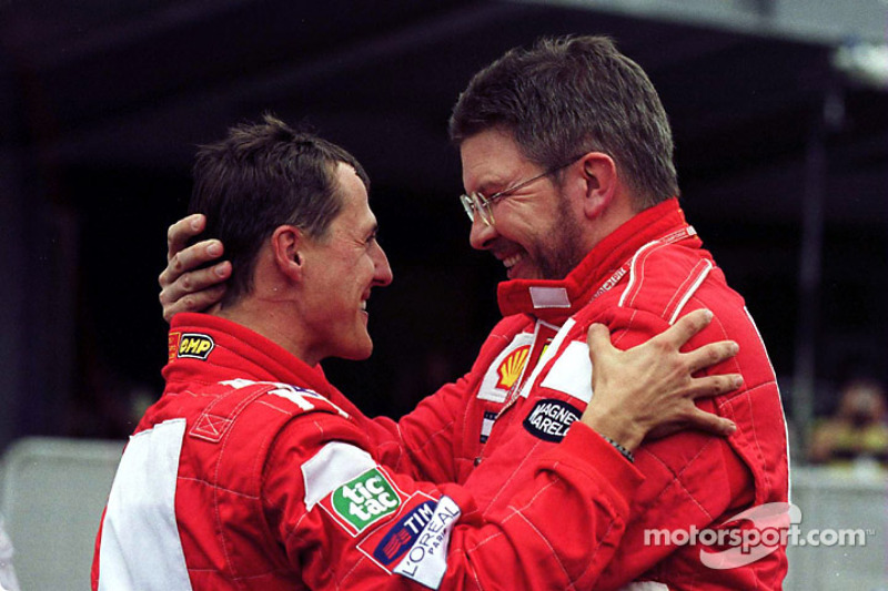 #30 GP des États-Unis 2000 (Ferrari F1-2000)