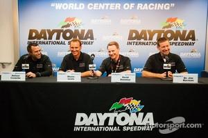 Napleton Racing press conference: Nelson Canache, Shane Lewis, David Donohue, Jim Norman