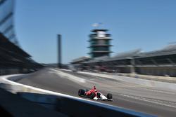 Oriol Servia, 2018 Honda IndyCar'ı test ediyor