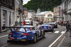#114 Emil Frey Jaguar Racing Jaguar G3: Jonan Hirschi, Christian Klien, Marco Seefried