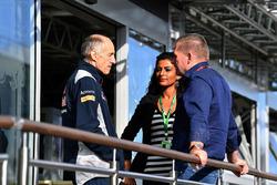 Franz Tost, Scuderia Toro Rosso STR12 Team Principal en Jos Verstappen