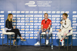 Феликс Розенквист, Mahindra Racing, и Сэм Бёрд, DS Virgin Racing