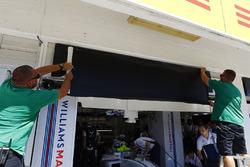 ميكانيكي فريق ويليامز يغيرون إسم فيليبي ماسا ببول دي ريستا