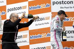 Podium: Peter Mücke und Sebastian Asch, Mücke Motorsport