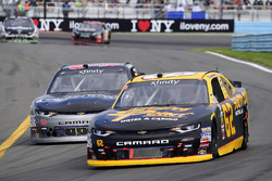 Brendan Gaughan, Richard Childress Racing Chevrolet, Brandon Jones, Richard Childress Racing Chevrolet