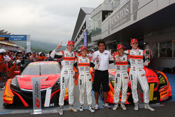 #8 Autobacs Racing Team Aguri Honda NSX Concept GT: Tomoki Nojiri, Takashi Kobayashi , #55 Autobacs Racing Team Aguri BMW M6 GT3: Shinichi Takagi, Sean Walkinshaw