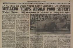 Tribune de Lausanne, Rangiers 1967