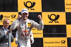 Podyum: Yarış galibi Marco Wittmann, BMW Team RMG, BMW M4 DTM