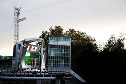 Luca Ghiotto, RUSSIAN TIME. Antonio Fuoco, PREMA Powerteam. and Nobuharu Matsushita, ART Grand Prix