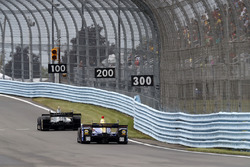Spencer Pigot, Ed Carpenter Racing Chevrolet, Alexander Rossi, Curb Herta - Andretti Autosport Honda