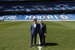 Fernando Alonso socio honor Real Madrid