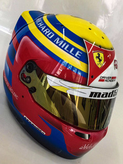 Casco de Charles Leclerc, PREMA Powerteam