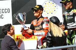 Podium: Chaz Davies, Ducati Team