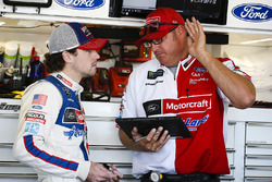 Ryan Blaney, Wood Brothers Racing Ford and crewman