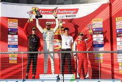 Podyum: Yarış galibi Cooper MacNeil, 2. Martin Fuentes, 3. Wei Lu
