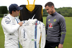 Felipe Massa and Eden Hazard special feature