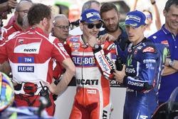 Хорхе Лоренсо, Ducati Team, Маверік Віньялес, Yamaha Factory Racing