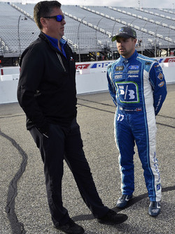 Ricky Stenhouse Jr., Roush Fenway Racing Ford and Brian Pattie