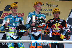 Podium: 1. Bradley Smith, 2. Sergio Gadea, 3. Marc Marquez