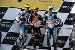 Podium: 1. Marc Marquez, 2. Pol Espargaro, 3. Nicolás Terol
