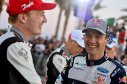 Яри-Матти Латвала, Toyota Gazoo Racing WRC, и Себастьен Ожье, M-Sport