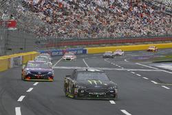 Курт Буш, Stewart-Haas Racing Ford и Денни Хэмлин, Joe Gibbs Racing Toyota