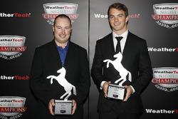 John Church en James French met Continental Extreme Spirit Awards