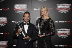 GTD Champions Alessandro Balzan, Christina Nielsen,