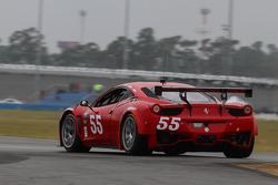 #55 AF Waltrip RK Motors Ferrari 458: Rui Aguas,  Robert Kauffman, Michael Waltrip
